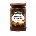 Rhubarb & Ginger Preserve Mackays 340g