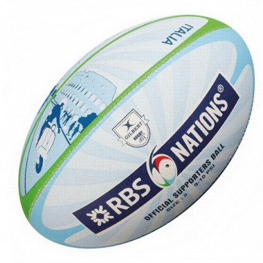 Gilbert RBS 6 Nations Rugby Supporter Ball