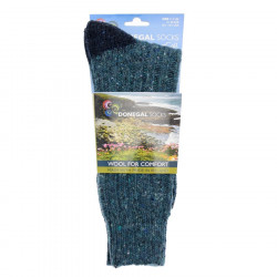 Turquoise Bicolor Short Socks