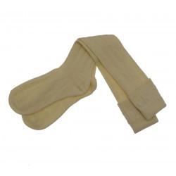 Chaussettes Pour Kilt Creme