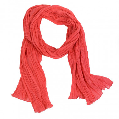 Out Of Ireland Coral Cotton Scarf Woman