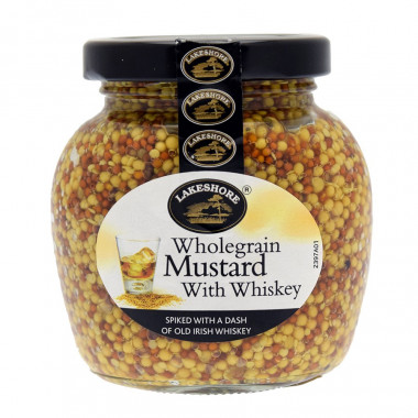 Mustard With Whisky 205g