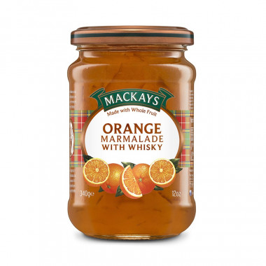 Orange and Whisky Marmelade Mackays 340g