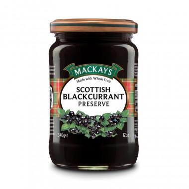 Scottish Blackcurrant Preserve Mackays 340g