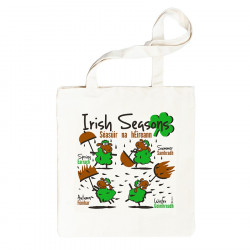 Irish Seasons Sheep Shopper Bag