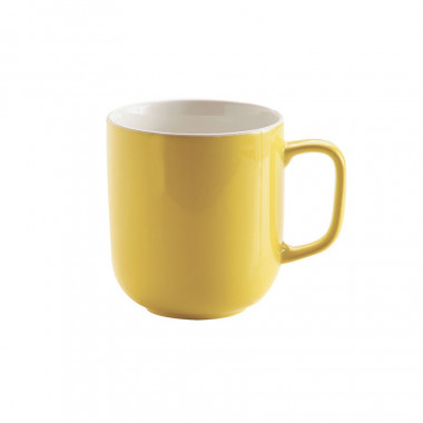 Mug Jaune en Grès Brillant 400ml
