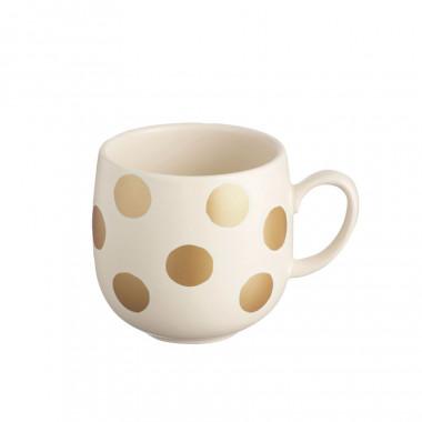 Golden Spotted Mug Sandstone 400ml