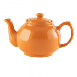 Orange Teapot 6 Mugs 1.10L
