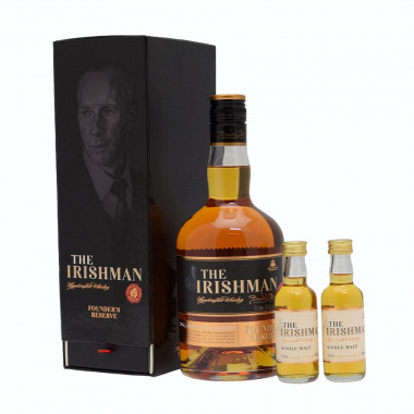The Irishman Founder's Reserve Blended 70cl 40° + 2 Mignatures 5cl