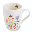 Mug Blanc Ceramique Collection Bee 250ml