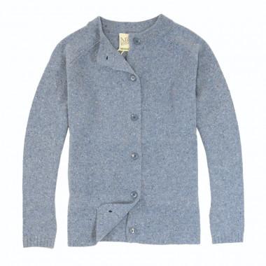 Aran Woollen Mills Blue Woollen Cardigan
