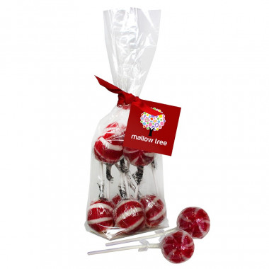 Sucettes Cerise x 8 Mallow Tree 200g