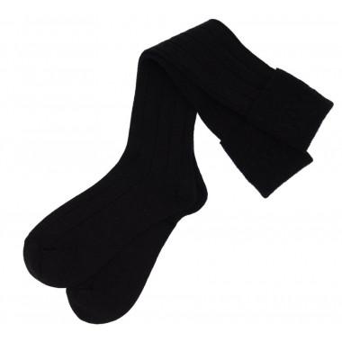 Black Socks for Kilts