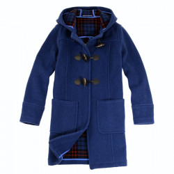 London Tradition Indigo Blue Fiona Duffle-Coat