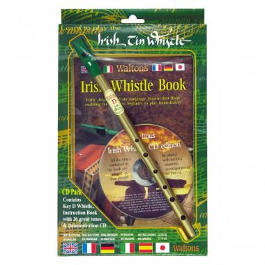 Tin Whistle D + Méthode + CD