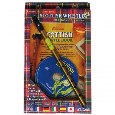 Tin Whistle Écossais + Méthode + CD
