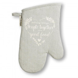 Food for Thought Grey Cotton Glove