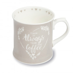 Mug Gris Tankard Coffee Food For Thought 380ml