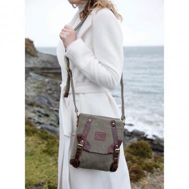 Carraig Donn Handbag Canvas and leather