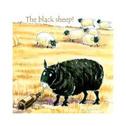Dessous de Verre The Black Sheep