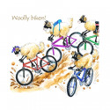 Dessous de Verre Woolly Bikers