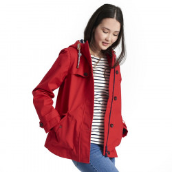 Tom Joule Waterproof Red Parka