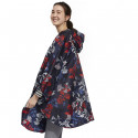 Tom Joule Navy & Flowers Rain Poncho