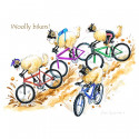 Woolly Bikers Placemat