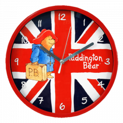 Paddington Bear Wall Clock