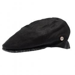 Celtic Alliance Black Leather Cap